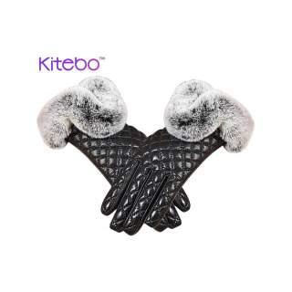 Дамски ракавици со Пуф