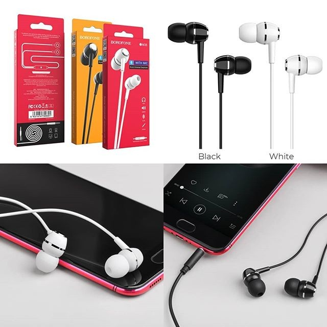 bm35 earphone borofone