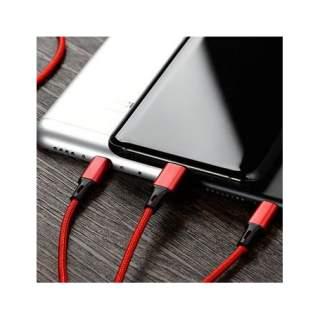 Троен усб кабел Micro Type C Iphone