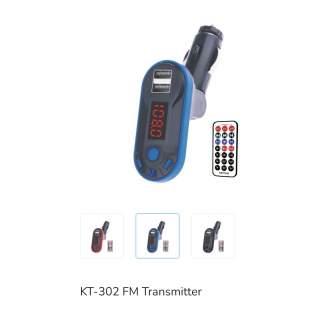 Блутут Мп3 трансмитер KT-302
