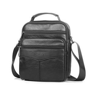 Машка кожена чанта