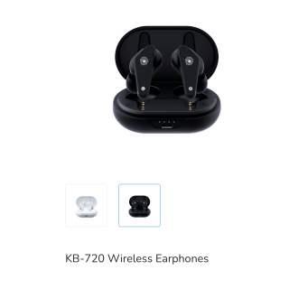 Безжични слушалки KB-720 KENSA